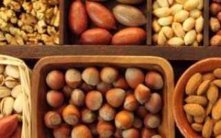 Какие орехи можно есть при гастрите