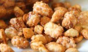 Как делают арахис в кокосе