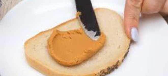 Как приготовить арахисовую пасту без сахара