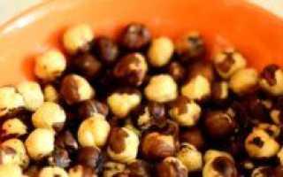 Жареный фундук: польза и вред, способы жарки